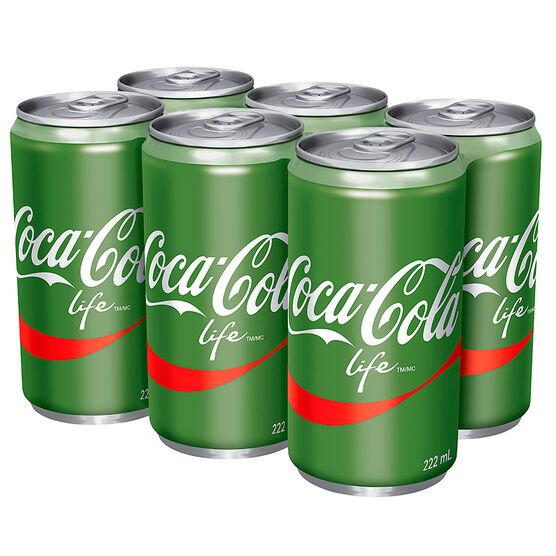 Coca-Cola Life - 6x222ml