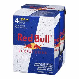 Red Bull Energy Drink - 4x250ml
