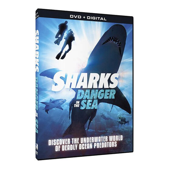 Sharks: Danger in the Sea - DVD