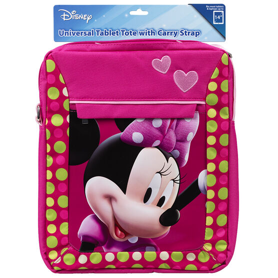 Disney Universal Tablet Tote with Carry Strap