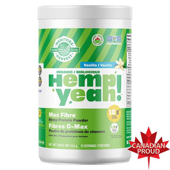 Manitoba Harvest Hemp Protein - Vanilla - 454g
