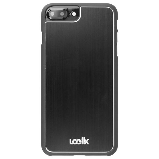 Logiix Aircraft Shell for iPhone 6 Plus/6s Plus/7 Plus - Black - LGX12428