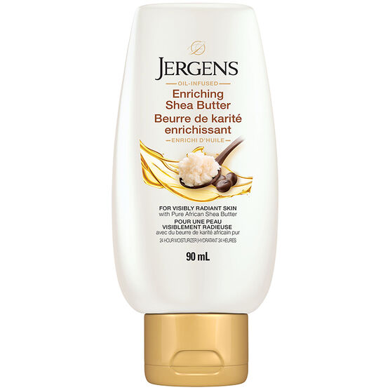 Jergens Lotion Shea Butter Deep Conditioning Moisturizer -  90ml