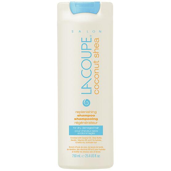 LaCoupe Coconut Shea Shampoo - Replenishing - 750ml