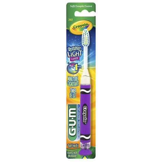 G.U.M. Crayola Timer Light Toothbrush