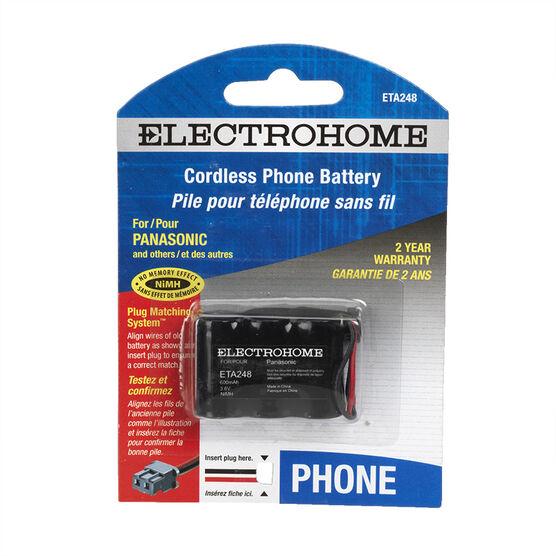 Electrohome ETA248 - Phone battery - rechargeable - 300 mAh