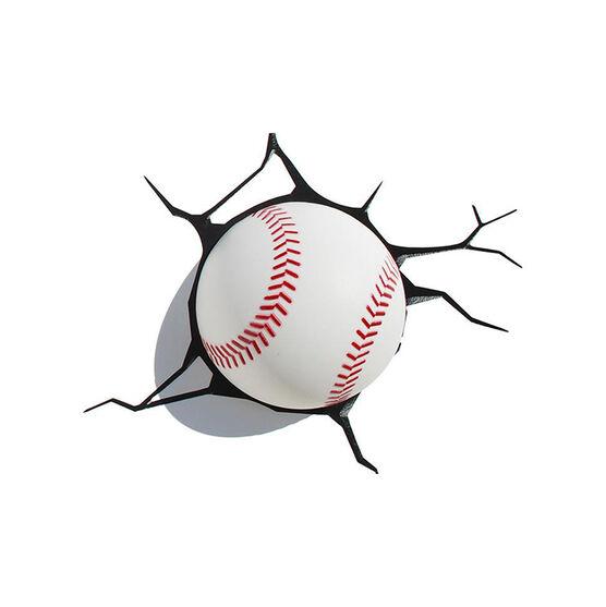 3D Deco Light - Baseball - 84648