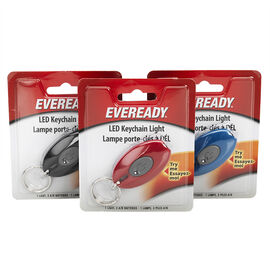 Energizer Eveready LED Keychain Light - EVLKCBUCS