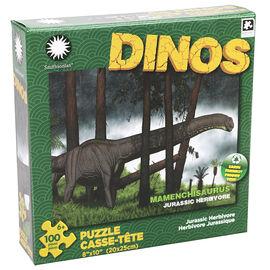 Smithsonian Dinosaur Puzzle - Assorted