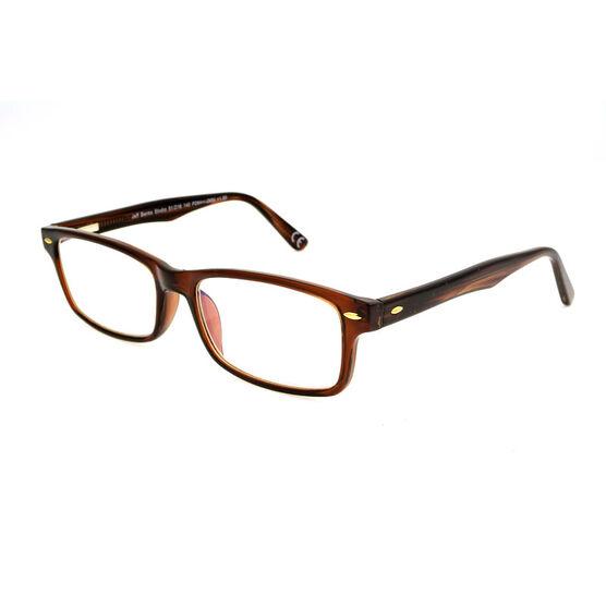 Foster Grant Franklin Reading Glasses - Brown - 2.00