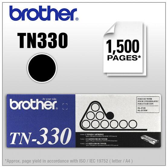 Brother TN330 Toner Cartridge - Black