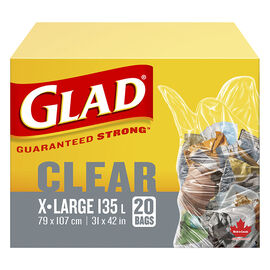Glad Recyclable Lawn & Leaf Bags - 20's