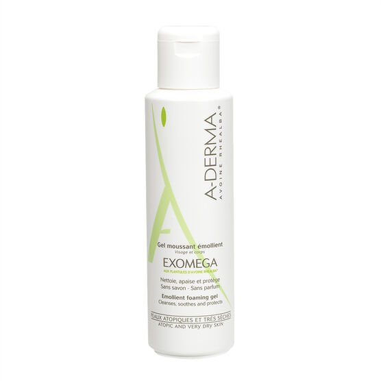 A-Derma Exomega Emollient Foaming Gel - 500ml
