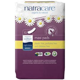 Natracare Night-Time Pads - 10's