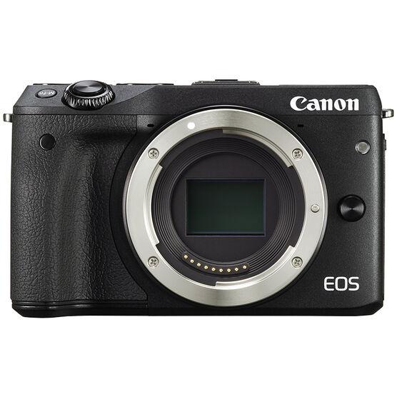 Canon EOS M3 Body - Black - 9694B001 - Open Box Display Model