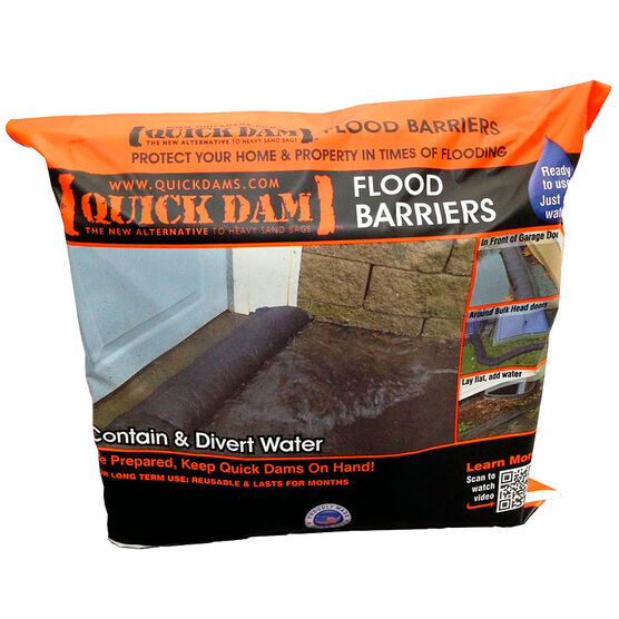 Quick Dam Flood Barriers - 8.9cm x 1.5M - 2 pack