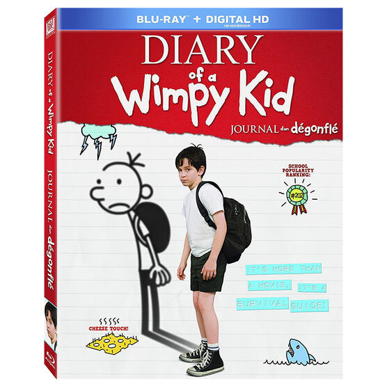 Diary Of A Wimpy Kid - Blu-ray