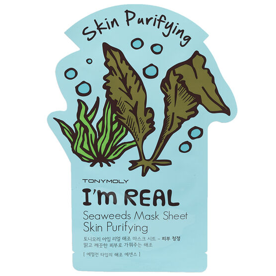 TonyMoly I'm Real Seaweeds Mask - Skin Purifying