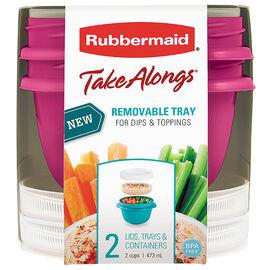 Rubbermaid TakeAlongs Breakfast - 2cup - 2pack