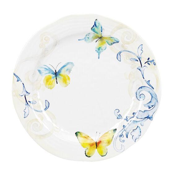 London Drugs Melamine Dinner Plate - Butterfly - 11in