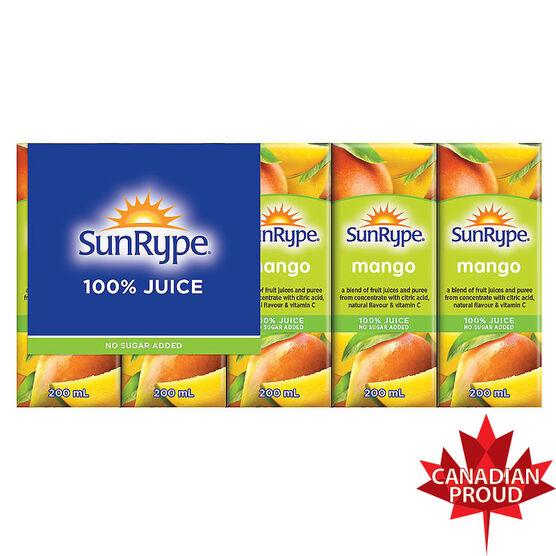 Sun-Rype Mango Juice - 5 x 200ml