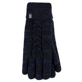 Heat Holders Ladies Gloves - Black Fleck - Large/XL