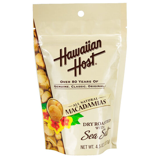 Hawaiian Host Macadamias  - Sea Salt - 127g