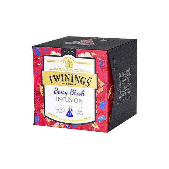 Twinings Large Leaf Tea Bags - Berry Blush Infusion - 15's