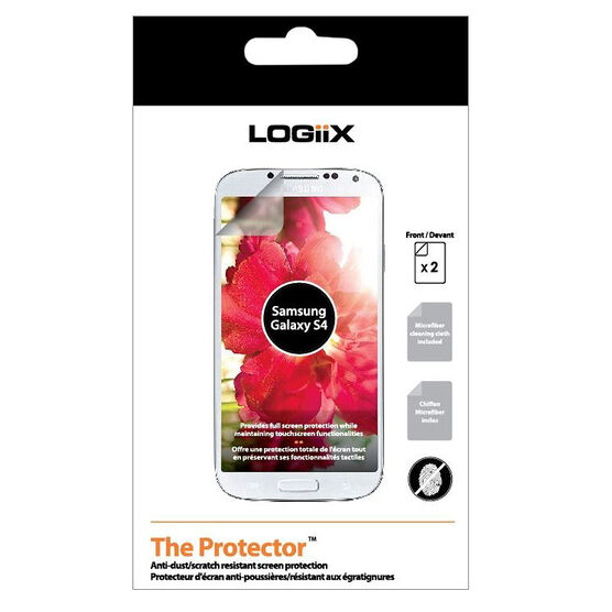 Logiix Screen Protector for Samsung Galaxy S4 - LGX10658