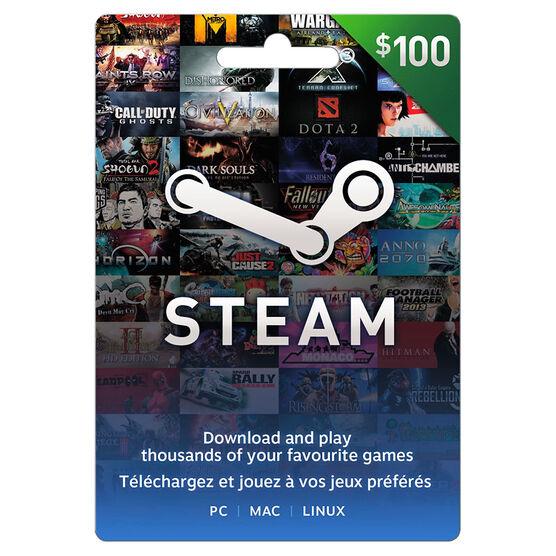 Valve Steam FastCard - $100