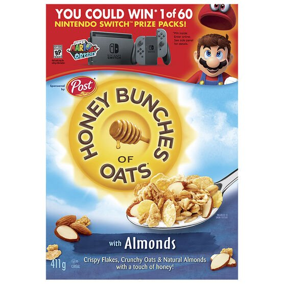 Post Honey Bunches of Oats - Almond - 411g