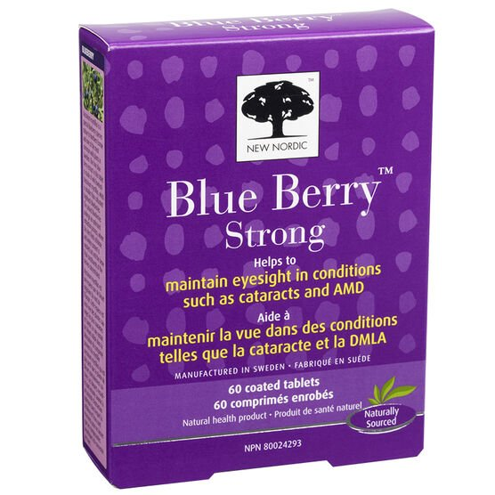 New Nordic Blue Berry Strong - 60's