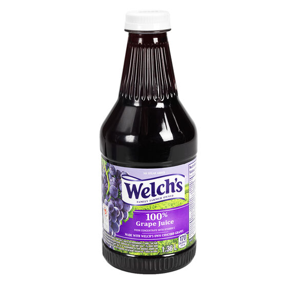 Welchs Concord Grape Juice - 1.36L