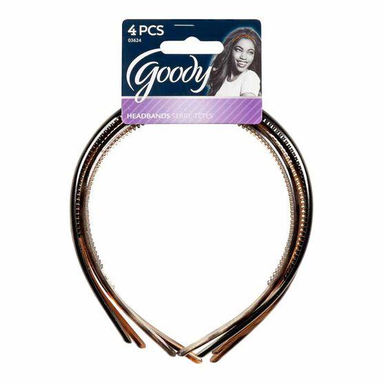 Goody Classics Thin Patterned Headbands - 4's