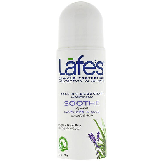 Lafe's Soothe Roll On Deodorant - Lavender & Aloe - 71g