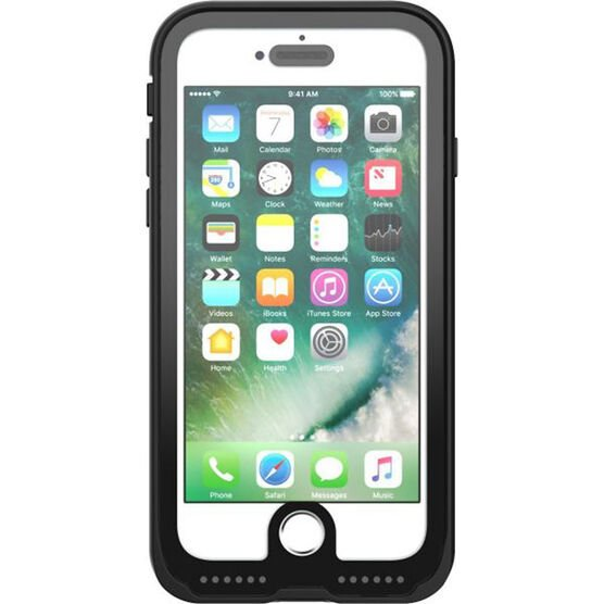 Pelican Marine Case for iPhone 7 - Black/Clear - PNIP7MARBK/CL