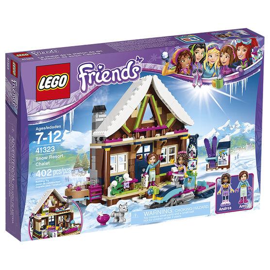 Lego Heartlake Snow Resort Chalet