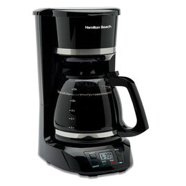 Hamilton Beach 12 Cup Digital Coffee Maker - Black - 43874