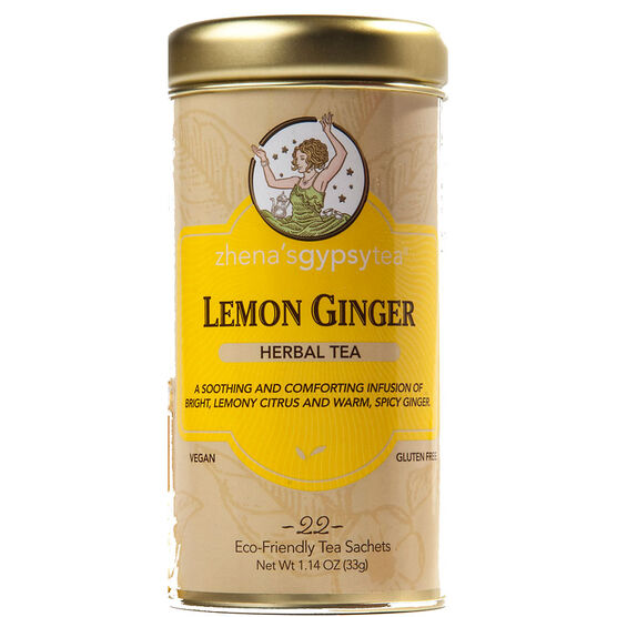 Zhena's Lemon Ginger Tea - 22's