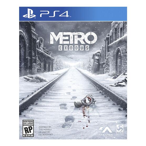 PRE ORDER: PS4 Metro Exodus