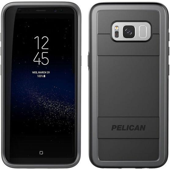Pelican Protector Case for Samsung Galaxy S8+ - Black/Grey - PNPRO5876BKGR