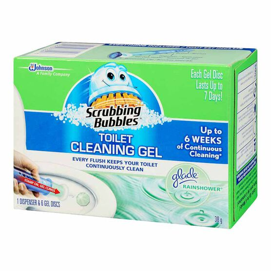 Scrubbing Bubbles Toilet Cleaning Gel - 6 gel discs