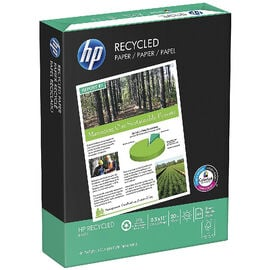 HP Office Recycled Paper - 8.5 x 11 inch - 10 pack - 5000 sheets