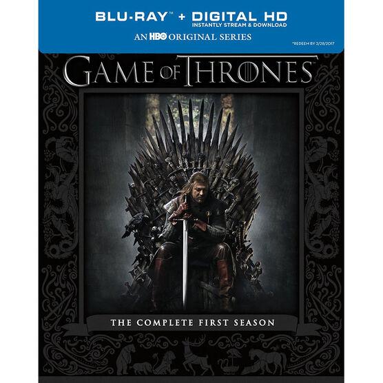 Game Of Thrones: Season One - Blu-ray