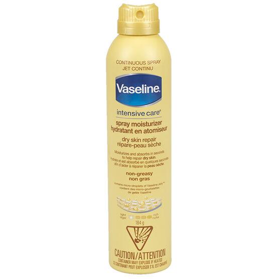 Vaseline Spray & Go Moisturizer - Dry Skin - 184g