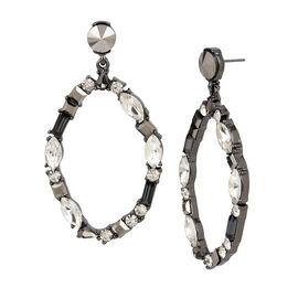Kenneth Cole Oval Hoop Earrings - Multi