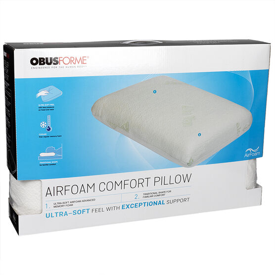 ObusForme Air Foam Comfort Pillow - PL-AFTR-QN