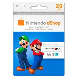 Nintendo Wii U 3DS eShop - $20