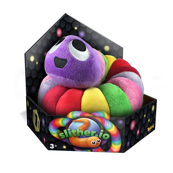 Slither.IO Bendable Plush - 8in - Assorted