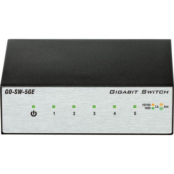 D-Link 5-Port Unmanaged Gigabit Metal Desktop Switch
